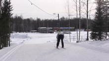 File:Skiing In The Kauppi.webm