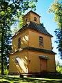 Slavikų bažnyčia, varpinė.JPG