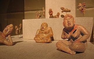 figurines from Olmec art