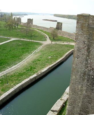 Medieval Serbian army - Smederevo Fortress constructed in 1429