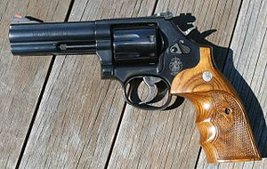 Smith & Wesson Model 586 - Image: Smith and Wesson 586 7