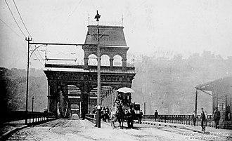 Smithfield Street Bridge - Image: Smithfield Street Bridge, 1894