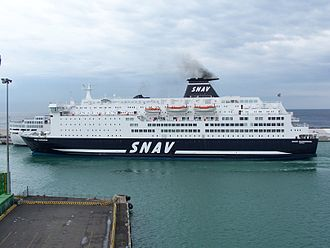 SNAV - Image: Snav sardegna 31 10 2007 (5)