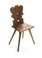 Snidad stol av rödbok, 1600-tal - Hallwylska museet - 108411.tif