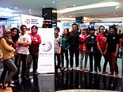 Social Media Festival, Jakarta 12-13 October 2013 - Day 2 volunteers, after-event photo session.jpg