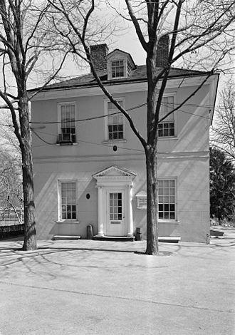 """John Penn (writer) - """"The Solitude"""" (1785), designed by Penn. Now part of the Philadelphia Zoo."""