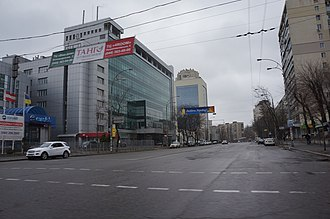 Solomianka District - Image: Solomianska Street