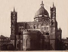 Sommer, Giorgio (1834-1914) - n. 9091 - Palermo - Cattedrale.jpg
