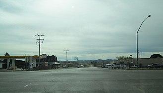 Sonoita, Arizona - Sonoita, as seen from the main intersection in town.