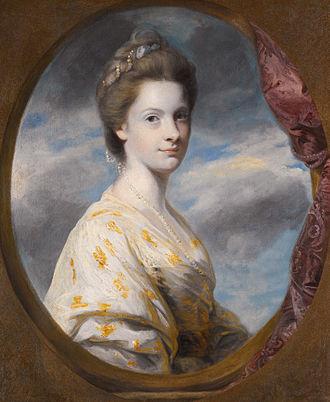 Edward Southwell, 20th Baron de Clifford - Sophia, Mrs Edward Southwell, later Lady de Clifford (1743-1828) (Joshua Reynolds, 1766)