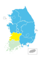 South Korea Nationwide Local Elections 2006.png