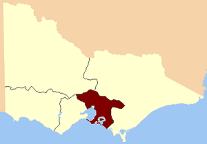 Southern Province (Victoria) - South Province, 1856
