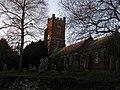 Sowton Village church and graveyard - geograph.org.uk - 1623460.jpg