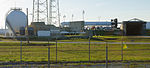 SpaceX Falcon 9 horizonal on pad for CRS-2 mission (8528754279).jpg