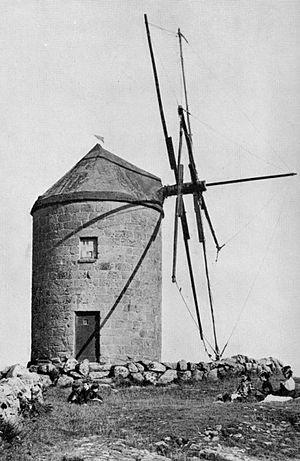 Windmill sail - Image: Spanish Mill, St Mary's