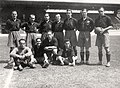 Spanish national football team before the match against Italy on the 1928 Summer Olympics in Amsterdam, 4.06.1928.jpg