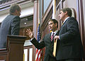Speaker Rubio meeting with two house Democrats, 2007.jpg