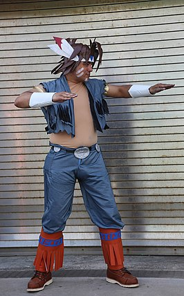Cosplayer T. Hawk, 2015.