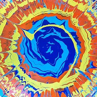 Spin art - Spin art