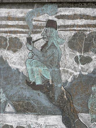 Vodyanoy - Typical projection of vodník in Czech or Slovak folklore