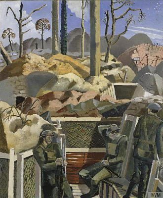 Paul Nash (artist) - Spring in the Trenches, Ridge Wood, 1917 (1918), collection of the Imperial War Museum, London