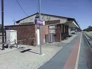 Springhurst railway station