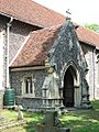 Ss Peter and Paul Church, Foxearth, Essex - south porch.jpg