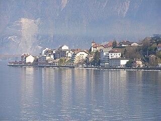 Saint-Gingolph, Haute-Savoie Commune in Auvergne-Rhône-Alpes, France