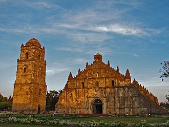 Earthquake Baroque - Image: St. Augustine Church Paoay, Ilocos Norte