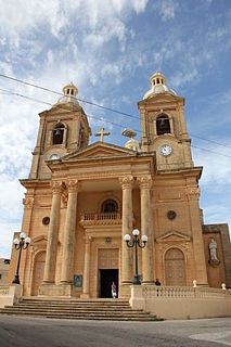 Parish Church of the Assumption, Dingli Church in Dingli, Malta