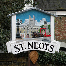 St Neots town sign - geograph.org.uk - 1139326.jpg