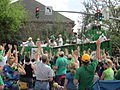 St Pats Parade Day Metairie 2012 Parade B5.JPG