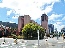 St Paul's Anglican Cathedral front side Wellington 2015.JPG