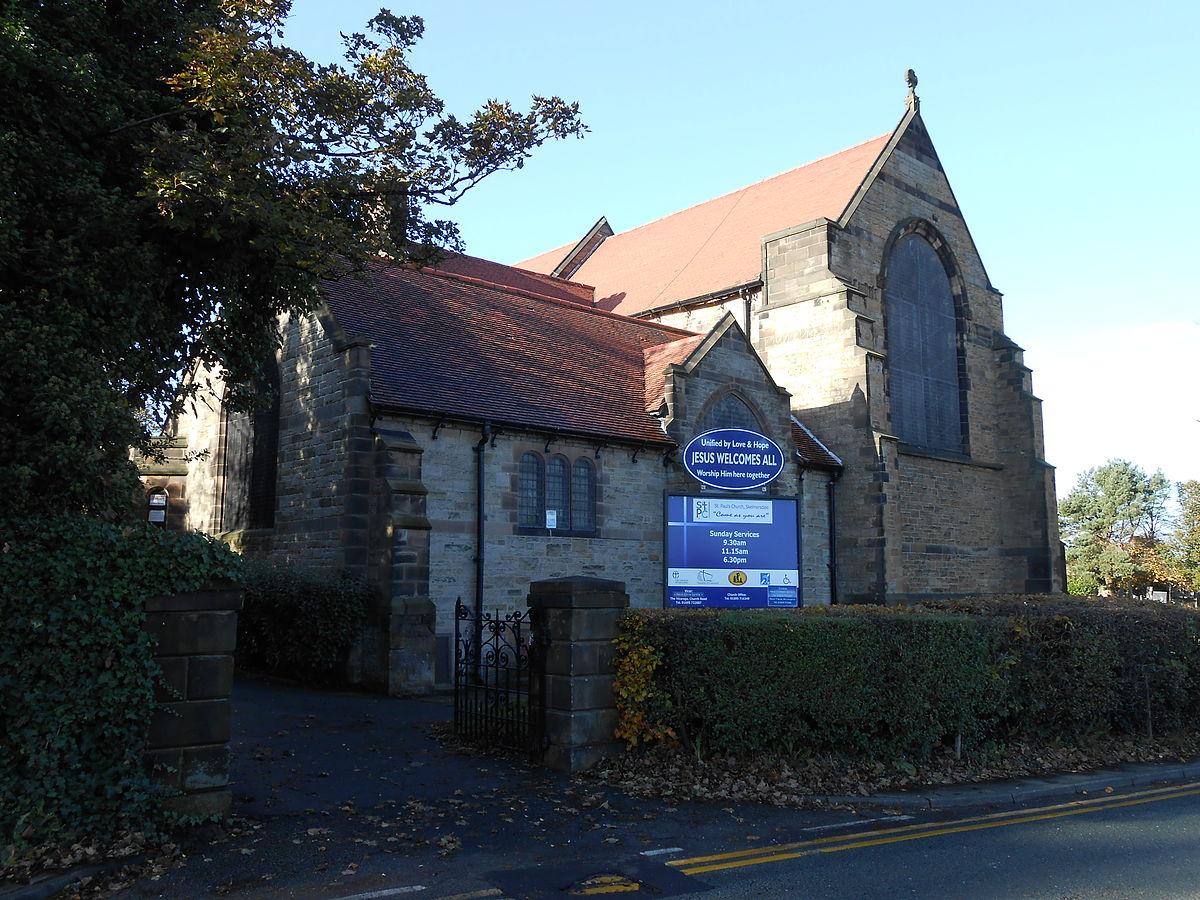 St Pauls Church Skelmersdale Wikipedia
