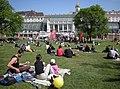 Stadtfest Wien 20090426 - Temporary picnic zone 'Burggarten' b.jpg