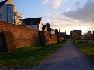 Duisburg - Remains of the city wall