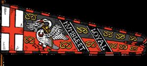 Heraldic flag