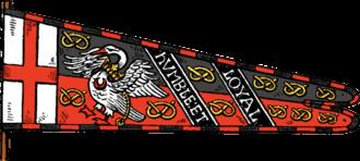 Heraldic flag - Image: Stafford flag