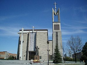 Stalowa Wola - New Catholic church in Stalowa Wola