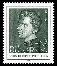 Berliner Sonderbriefmarke zum 200. Geburtstag 1981 (Quelle: Wikimedia)