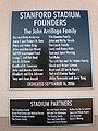 Stanford Stadium founders plaque.JPG