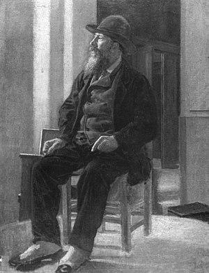 Stanislao Lista - Portrait of Stanislao Lista