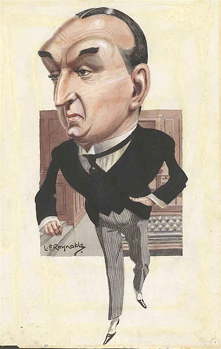 Caricature of Bruce as prime minister Stanley Bruce - Reynolds.jpg