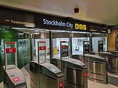 Stockholm City Station Wikidata