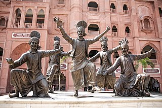 Bhangra (dance) several types of dance originating from the Punjab region