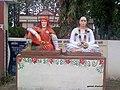 Statues of Gadge baba and Tukdoji Maharaj at Wagdara - panoramio.jpg