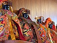 Statues of Mazu in Lugang Mazu Temple 2004-08.jpg