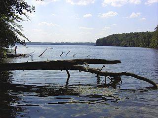 Rheinsberg Lake Region lake in Germany