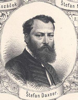 Štefan Marko Daxner - Štefan Marko Daxner (1864)