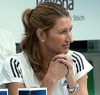 Steffi Graf ended the year as number 1 for the seventh time
